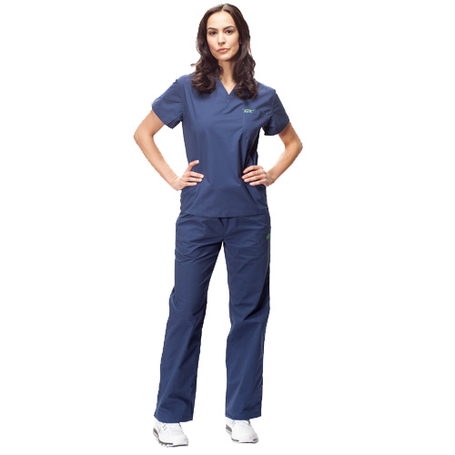 iguanamed scrubs navy